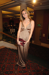 BRYONY DANIELS at a Gala dinner in aid of Chickenshed held at the Guildhall, City of London on 29th October 2007.<br /><br />NON EXCLUSIVE - WORLD RIGHTS
