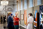 Koning reikt Koninklijke Prijs voor Vrije Schilderkunst 2020 uit