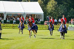 RIESENBECK - FEI Jumping European Championship Riesenbeck 2021<br /> <br /> Team Belgium<br /> DEVOS Pieter (BEL), Jade vd Bisschop, VARLOOY Jos (BEL), Varoune, PHILIPPAERTS Oliver (BEL), Le Blue Diamond v't Ruytershof, PHILIPPAERTS Nicola (BEL), Katanga v/h Dingeshof <br /> Siegerehrung / Prize giving ceremony<br /> Second Qualifying Competition - Round 2 <br /> Team Final<br /> <br /> Hörstel-Riesenbeck, Reitanlage Riesenbeck International<br /> 03. September 2021<br /> © www.sportfotos-lafrentz.de/Stefan Lafrentz