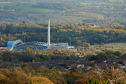 4th November 2017 - Premier League - Huddersfield Town v West Bromwich Albion - A general view (GV) of The John Smith's Stadium - Photo: Simon Stacpoole / Offside.