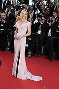 UMA THURMAN - Opening Gala Red Carpet Arrivals, The 70th Annual Cannes Film Festival. <br /> <br /> RED CARPET 'THE GHOSTS OF ISMAEL' AND OPENING CEREMONY<br /> ©Exclusivepix Media