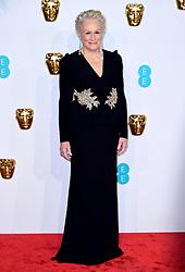Glenn Close attending the 72nd British Academy Film Awards held at the Royal Albert Hall, Kensington Gore, Kensington, London.