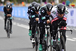 September 22, 2018 - Innsbruck, Autriche - Equipe  Team Bora Hansgrohe in action (Credit Image: © Panoramic via ZUMA Press)