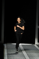 Designer Alexander Wang presents his Alexander Wang for H&M collection in New York on October 16th, 2014