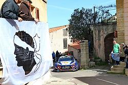 April 7, 2018 - Corse, France - CORSICA Linea - TOUR DE CORSE 2018 Andreas MIKKELSEN, Anders JAEGER-SYNNEVAAG HYUNDAI i20 COUPE WRC (Credit Image: © Panoramic via ZUMA Press)