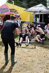 Latitude Festival, Henham Park, Suffolk, UK July 2019. Duracell sponsored stall