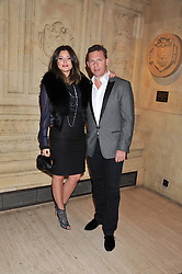 NICK & HOLLY CANDY at Cirque du Soleil's VIP night of Kooza held at the Royal Albert Hall, London on 8th January 2013.