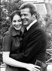 Oct 31, 1979; London, England, UK; Actor ROGER MOORE aka James Bond 007 and leading lady BARBARA KELLERMANN in the film,'The Sea Wolves'. (Credit Image: © Keystone Press Agency/Keystone USA via ZUMAPRESS.com)