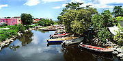 Negril River Panorama - Jamaica
