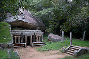 Sri Lanka. Kaludiya Pokuna. near Mihintale