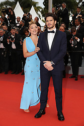 Florence Pugh, Francois Civil attend the screening of La Belle Epoque during the 72nd annual Cannes Film Festival on May 20, 2019 in Cannes, France. Photo by Shootpix/ABACAPRESS.COM