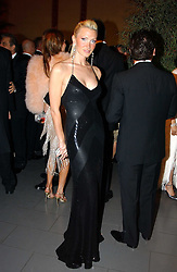 Model CAPRICE BOURRET at Andy & Patti Wong's Chinese New Year party to celebrate the year of the Rooster held at the Great Eastern Hotel, Liverpool Street, London on 29th January 2005.  Guests were invited to dress in 1920's Shanghai fashion.<br /><br />NON EXCLUSIVE - WORLD RIGHTS