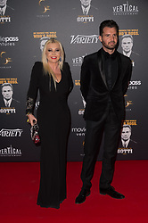 Lady Monika Bacardi and Andrea Iervolino attending a party in Honour of John Travolta's receipt of the Inaugural Variety Cinema Icon Award during the 71st annual Cannes Film Festival at Hotel du Cap-Eden-Roc in Cap d'Antibes, France on May 15, 2018 as part of the 71st Cannes Film Festival. Photo by Nicolas Genin/ABACAPRESS.COM