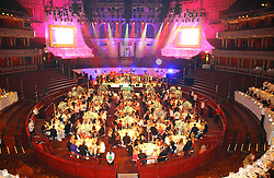 Guests at dinner at the NSPCC's Dream Auction held at The Royal Albert Hall, London on 9th May 2006.<br />