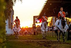 Van der Vleuten Maikel, Vrieling Jur, Schroder Gerco<br /> Individual competition round 3 and Final Team<br /> FEI European Championships - Aachen 2015<br /> © Hippo Foto - Jon Stroud<br /> 21/08/15