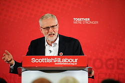 Jeremy Corbyn, Dunfermline, 24-04-2017<br /> <br /> Jeremy Corbyn MP visited Dunfermline Conference Centre <br /> <br /> (c) David Wardle | Edinburgh Elite media