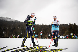 February 22, 2019 - Seefeld In Tirol, AUSTRIA - 190222 Daniel Rickardsson of Sweden at a cross-country skiing training session during the FIS Nordic World Ski Championships on February 22, 2019 in Seefeld in Tirol..Photo: Joel Marklund / BILDBYRN / kod JM / 87881 (Credit Image: © Joel Marklund/Bildbyran via ZUMA Press)