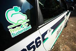 September 6, 2017 - A Guarda Civíl Metropolitana (GCM) da cidade de São Paulo, recebe nesta quarta-feira (06), doação de veículos elétricos. A primeira cidade no Brasil a ter policiamento municipal com carros elétricos. (Credit Image: © Aloisio Mauricio/Fotoarena via ZUMA Press)