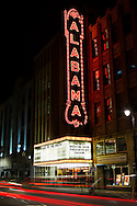 The historic Alabama Theater in Birmingham, Alabama