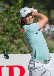 December 10, 2016 - Hong Kong, Hong Kong SAR, China - England's Tommy Fleetwood finishes round 3 in 3rd position with 9 under par.Day 3 of the Hong Kong Open Golf at the Hong Kong Golf Club Fanling..© Jayne Russell. (Credit Image: © Jayne Russell via ZUMA Wire)