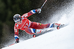 02.02.2020, Kandahar, Garmisch, GER, FIS Weltcup Ski Alpin, Riesenslalom, Herren, 1. Lauf, im Bild Pavel Trikhichev (RUS) // Pavel Trikhichev of Russian Federation in action during his 1st run of men's Giant Slalom of FIS ski alpine world cup at the Kandahar in Garmisch, Germany on 2020/02/02. EXPA Pictures © 2020, PhotoCredit: EXPA/ Johann Groder