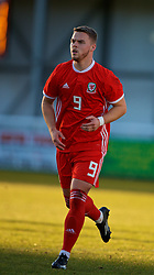 BANGOR, WALES - Saturday, November 17, 2018: Wales' Daniel Griffiths during the UEFA Under-19 Championship 2019 Qualifying Group 4 match between Sweden and Wales at the Nantporth Stadium. (Pic by Paul Greenwood/Propaganda)