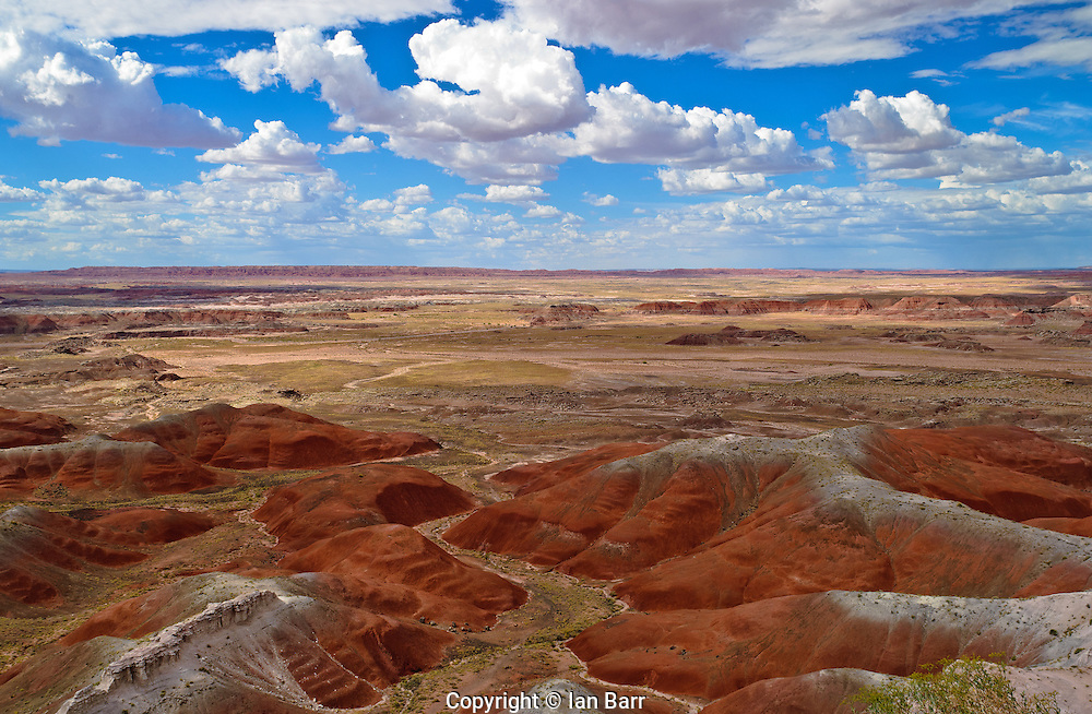 Painted Desert,Petrified Forest National Park, Arizona.USA.