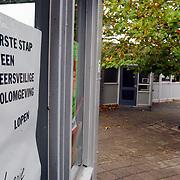 Verkeersveiligheid schoolkinderen Luitstraat school de Lichtboei Almere, Loesje poster