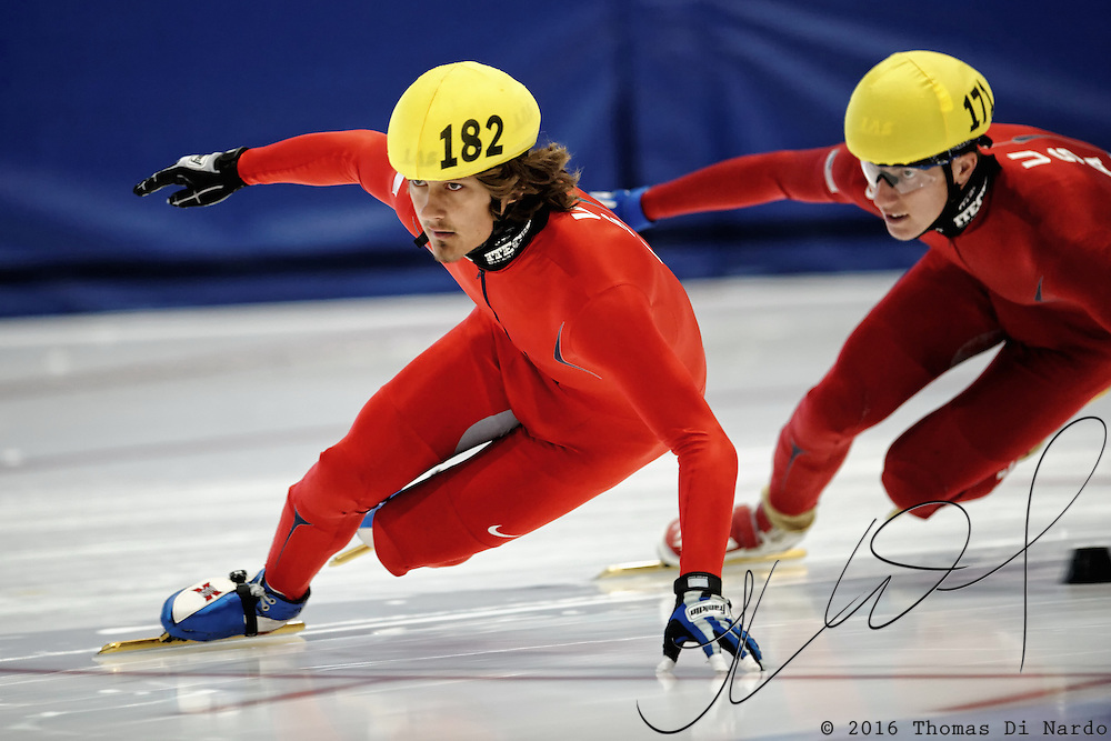 2009 Desert Classic Short Track at the Utah Olympic Oval in Salt Lake City, Utah.