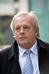 © Licensed to London News Pictures. 16/11/2011. London, UK. Chief executive of the English footballers' trades union, the Professional Footballers Association (PFA) Gordon Taylor outside The Royal Courts of Justice today (16/11/2011). Photo credit: Ben Cawthra/LNP