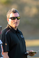 KELOWNA, BC - AUGUST 3:  Coach  at the Apple Bowl on August 3, 2019 in Kelowna, Canada. (Photo by Marissa Baecker/Shoot the Breeze)