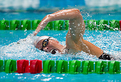 Joerdis Steinegger of Austria competes during the Women's 400 m Individual Medley Final during Slovenia Open swimming Championship and MM Kranj 2011, on June 4, 2011 in Olympic pool, Kranj, Slovenia. (Photo By Vid Ponikvar / Sportida.com)