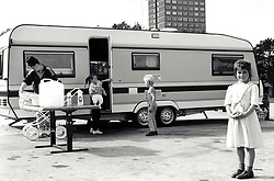 Traveller family UK 1980s