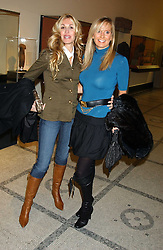 Left to right, MELISSA ODABASH and SIOBHAN MAREUSE at a fashion show and after party to celebrate the 20th Anniversay of fashion designer Ozwald Boateng held at the Victoria & Albert Museum, London on 25th November 2005.<br /><br />NON EXCLUSIVE - WORLD RIGHTS