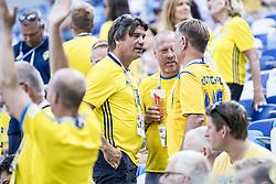 June 18, 2018 - Nizhny Novgorod, Russia - Bo Johansson, Bosse Johansson..2018 FIFA World CUP, Sweden - South Korea, 1-0, Nizhny Novgorod Stadium, Russia, 2018-06-18..(c) ORRE PONTUS  / Aftonbladet / IBL BildbyrÃ¥....* * * EXPRESSEN OUT * * *....AFTONBLADET / 85527 *** Local Caption  (Credit Image: © Orre Pontus/Aftonbladet/IBL via ZUMA Wire)