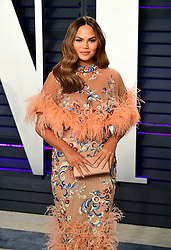 File photo dated 24/02/19 of Chrissy Teigen who has threatened to take legal action against a fashion designer she alleged shared faked messages claiming to be from her amid a bullying row. Issue date: Saturday June 19, 2021.