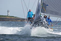 Sailing - SCOTLAND  - 26th May 2018<br /> <br /> DAY 2 Racing the Scottish Series 2018, organised by the  Clyde Cruising Club, with racing on Loch Fyne from 25th-28th May 2018<br /> <br /> GBR9470R, Banshee, Charlie Frize, CCC, Corby 33.<br /> <br /> Credit : Marc Turner<br /> <br /> Event is supported by Helly Hansen, Luddon, Silvers Marine, Tunnocks, Hempel and Argyll & Bute Council along with Bowmore, The Botanist and The Botanist