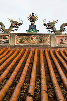 The Confucius temple in Gongcheng, near Yangshuo, is said to have been built as a replica of the Qufu temple in Shandong.