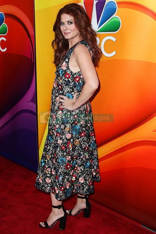 Debra Messing wearing Alice + Olivia arrives at the 2017 NBC Summer TCA Press Tour held at The Beverly Hilton Hotel on August 3, 2017 in Beverly Hills, California. 03 Aug 2017 Pictured: Debra Messing. Photo credit: IPA/MEGA TheMegaAgency.com +1 888 505 6342