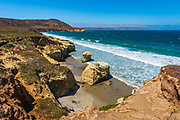 Skunk Point Beach, Santa Rosa Island, Channel Islands National Park, California USA