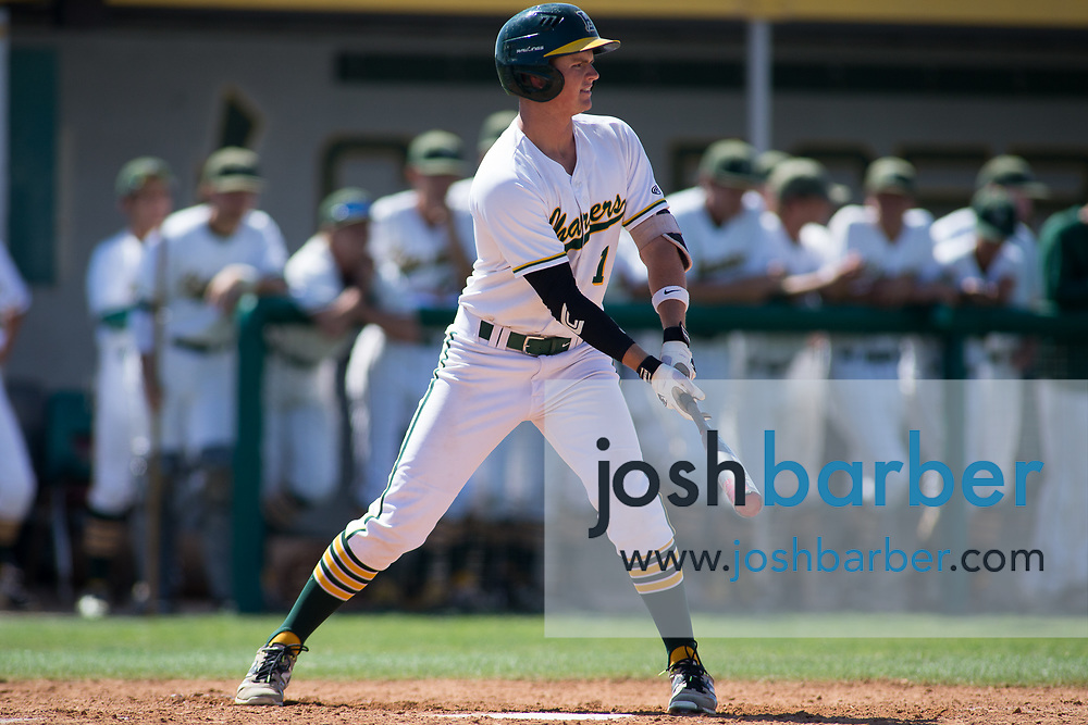 Edison's Derek Cleland during the CIF-SS Division 2 Quarterfinal: Palm Desert v Edison at Edison High School on Friday, May 26, 2017 in Huntington Beach, Calif. (Photo by Josh Barber, Contributing Photographer)