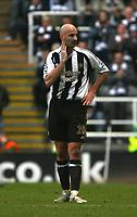 Photo: Andrew Unwin.<br /> Newcastle United v Portsmouth. The Barclays Premiership. 26/11/2006.<br /> Newcastle's Antoine Sibierski.
