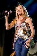 Sheryl Crow performing in support of Kid Rock on the Born Free Tour at Verizon Wireless Amphitheater in St. Louis Missouri on July 16, 2011.