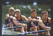 Henley, Great Britain,  1988 Henley Royal Regatta, Henley Reach, River Thames, Annual Event. [Mandatory credit: Peter Spurrier/Intersport Images]