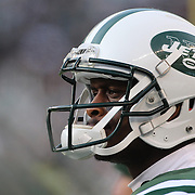 Geno Smith, New York Jets, during the New York Jets Vs Miami Dolphins  NFL American Football game at MetLife Stadium, East Rutherford, NJ, USA. 1st December 2013. Photo Tim Clayton