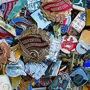 Soviet badges (Kiev (Kyiv), Ukraine - Jul. 2008) (Image ID: 080730-1806391a)