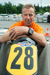 Miro Kregar, triathlon athlete, on May 17, 2007 in Logatec, Slovenia. Photo by Vid Ponikvar / Sportida