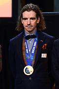 Officiele Huldiging van de Olympische medaillewinnaars Sochi 2014 / Official Ceremony of the Sochi 2014 Olympic medalists.<br /> <br /> Op de foto: Bob de Jong