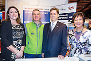 27/1/16 US Chargé d'affaires Reece Smyth at the New Hampshire Ski Group USA stand at the Holiday World Show 2017 at the RDS Simmonscourt in Dublin. Picture: Arthur Carron