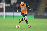 Hull City midfielder Robert Snodgrass  during the Sky Bet Championship match between Hull City and Bolton Wanderers at the KC Stadium, Kingston upon Hull, England on 12 December 2015. Photo by Ian Lyall.